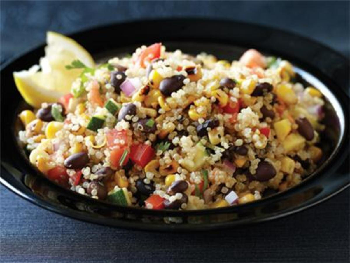 Low Calorie Quinoa Salad  Low Calorie Meal Ideas Clean Eating Magazine