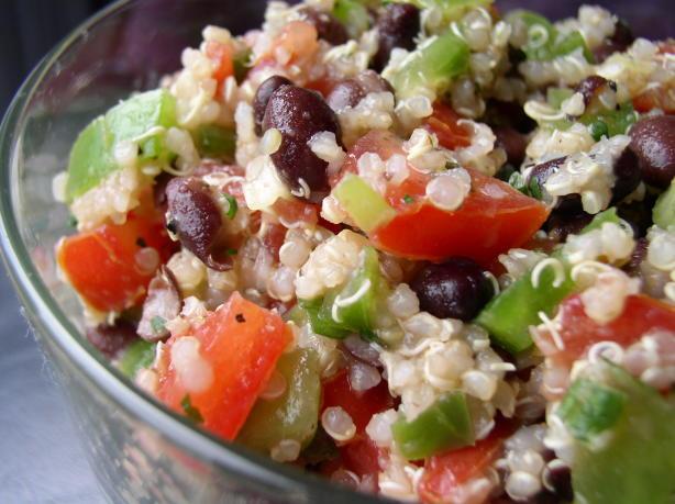 Low Calorie Quinoa Salad  Quinoa Black Bean Salad Recipe Low cholesterol Food