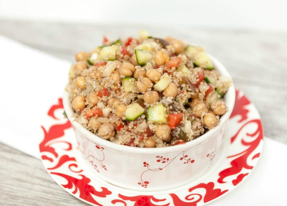 Low Calorie Quinoa Salad  mediterranean quinoa salad calories
