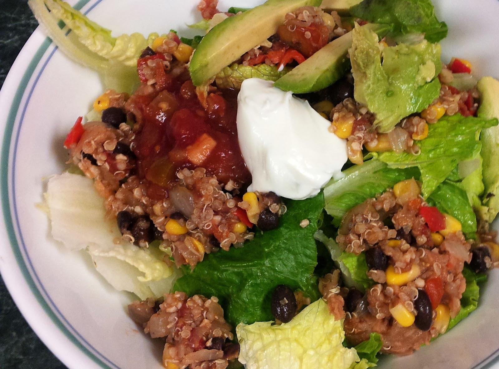 Low Calorie Quinoa Salad  Mexican Quinoa Salad Recipe — Dishmaps