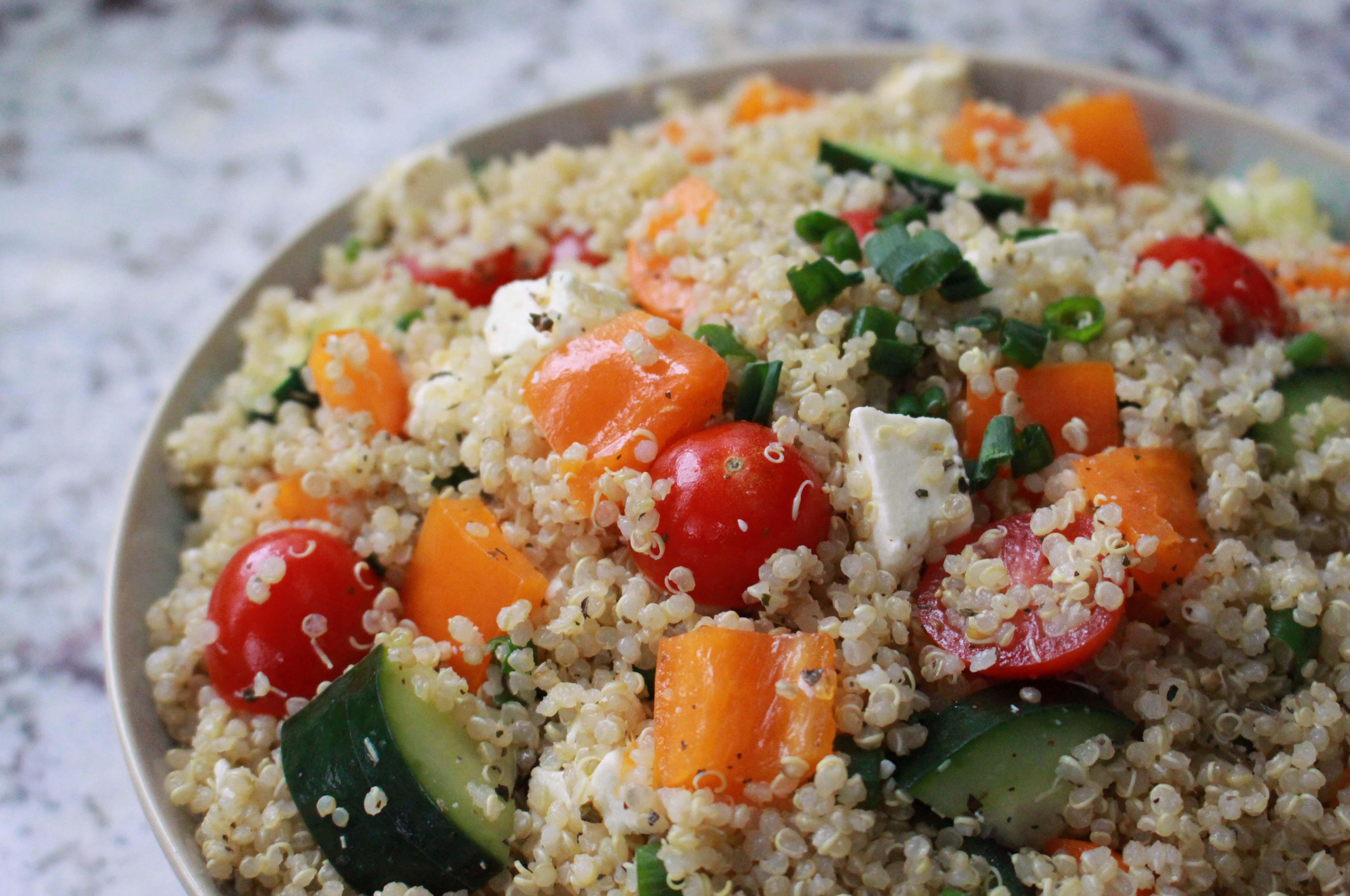 Low Calorie Quinoa Salad  Lauren Renlund MPH RD – Registered Dietitian and Nutrition