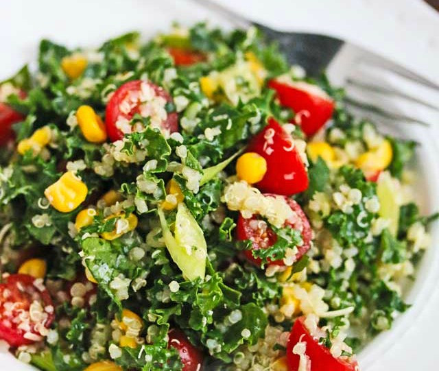 Low Calorie Quinoa Salad  9 Satisfying snacks that aren't stacked with calories