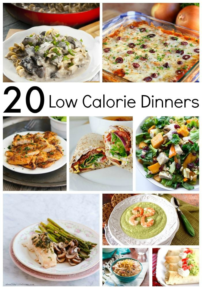 Low Calorie Recipes For Dinner  20 Low Calorie Dinners