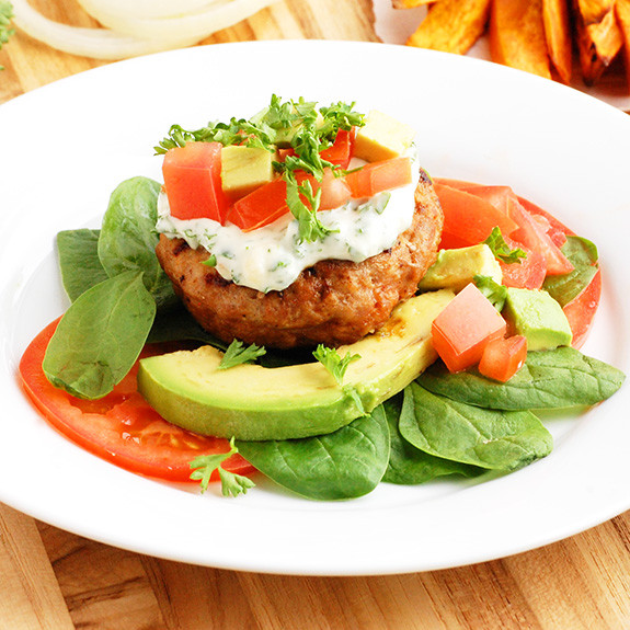 Low Calorie Recipes With Ground Turkey  Classic Paleo Turkey Burgers Low Carb