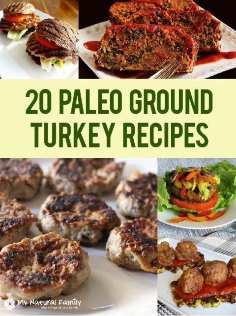 Low Calorie Recipes With Ground Turkey  Paleo Recipes With Ground Turkey
