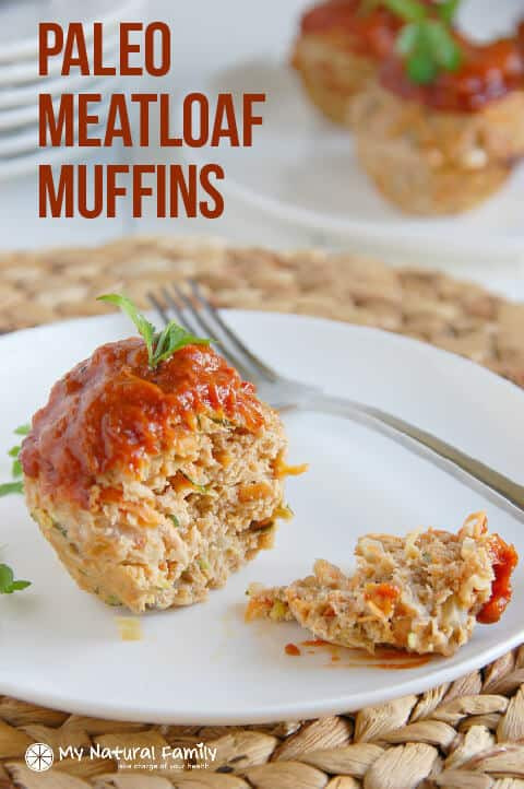 Low Calorie Recipes With Ground Turkey  Veggie Paleo Meatloaf Muffins Recipe Clean Eating Gluten