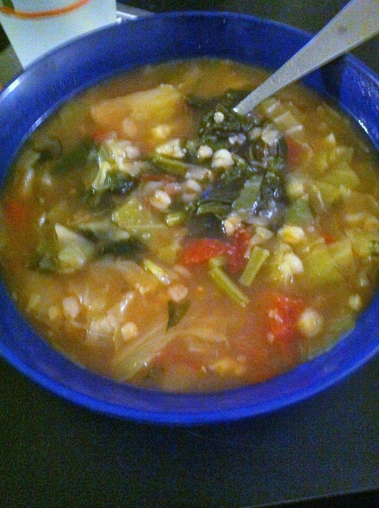 Low Calorie Soup Recipes Under 100 Calories  Under 100 Calories Per Bowl Cruciferous Ve able Soup