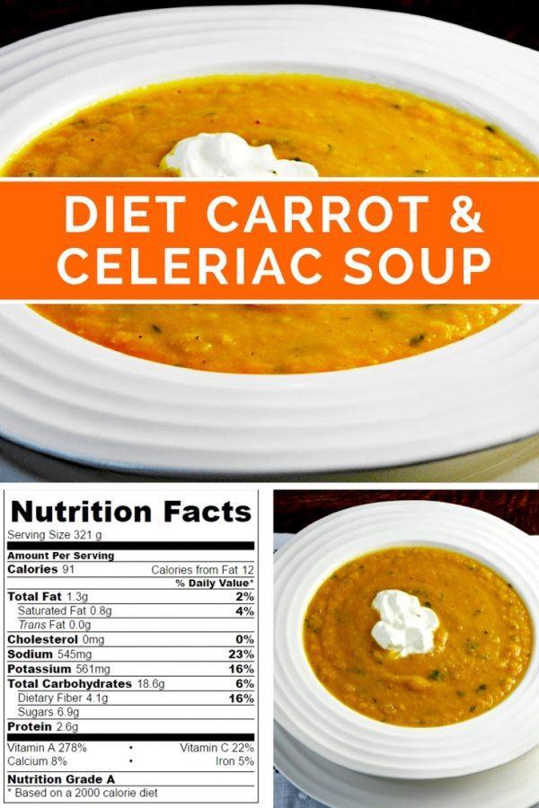 Low Calorie Soup Recipes Under 100 Calories  5 2 t carrot celeriac soup 100 calories low calorie