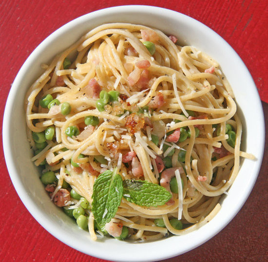 Low Calorie Spaghetti  Healthy Low Calorie Spaghetti Carbonara Recipe