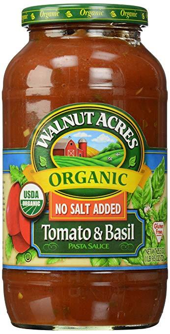 Low Calorie Spaghetti Sauce  basil pasta sauce no tomato