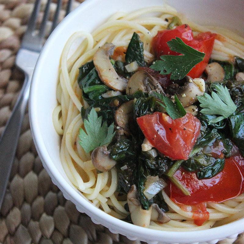Low Calorie Spaghetti Sauce  Low Calorie White Wine Spaghetti Recipe