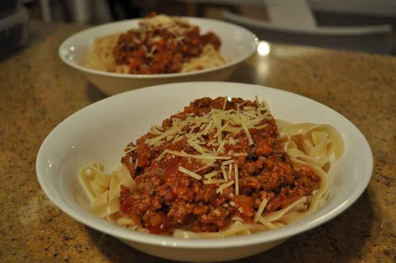 Low Calorie Spaghetti Sauce  A low calorie spaghetti bolognese sauce