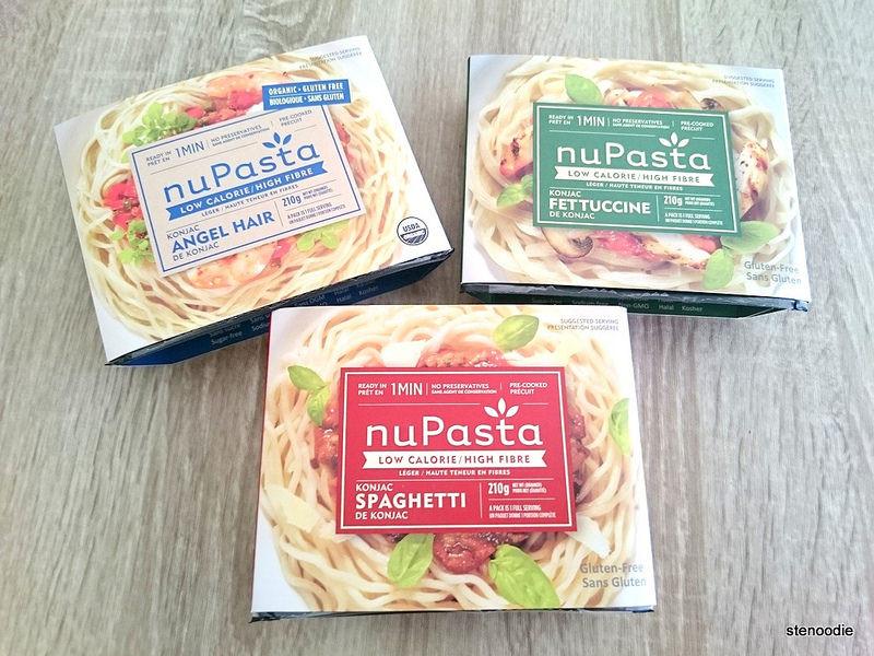 Low Calorie Spaghetti  Sampling NuPasta the low calorie pasta
