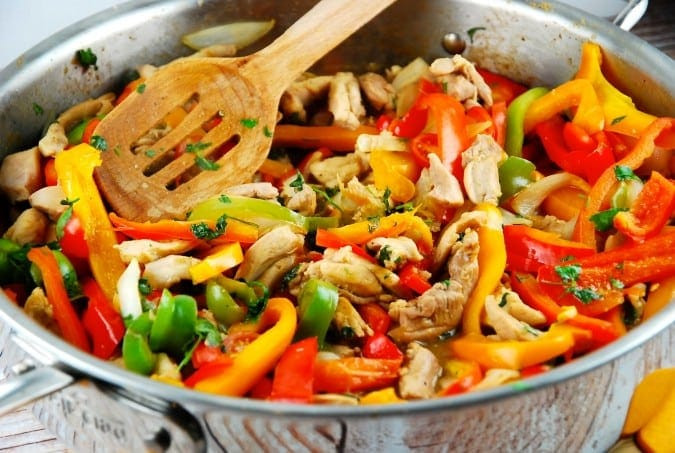 Low Calorie Stir Fry Sauce Recipes  Peruvian Chicken Stir Fry Recipe 4 Smart Points LaaLoosh
