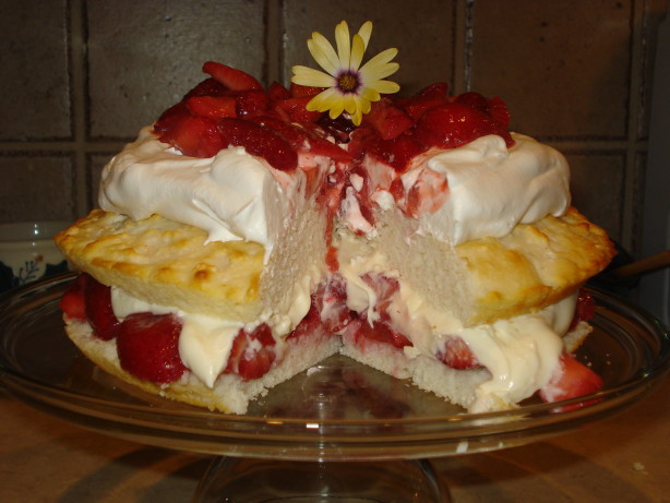 Low Calorie Strawberry Shortcake  Simply Sensational Low Fat Strawberry Shortcake Recipe