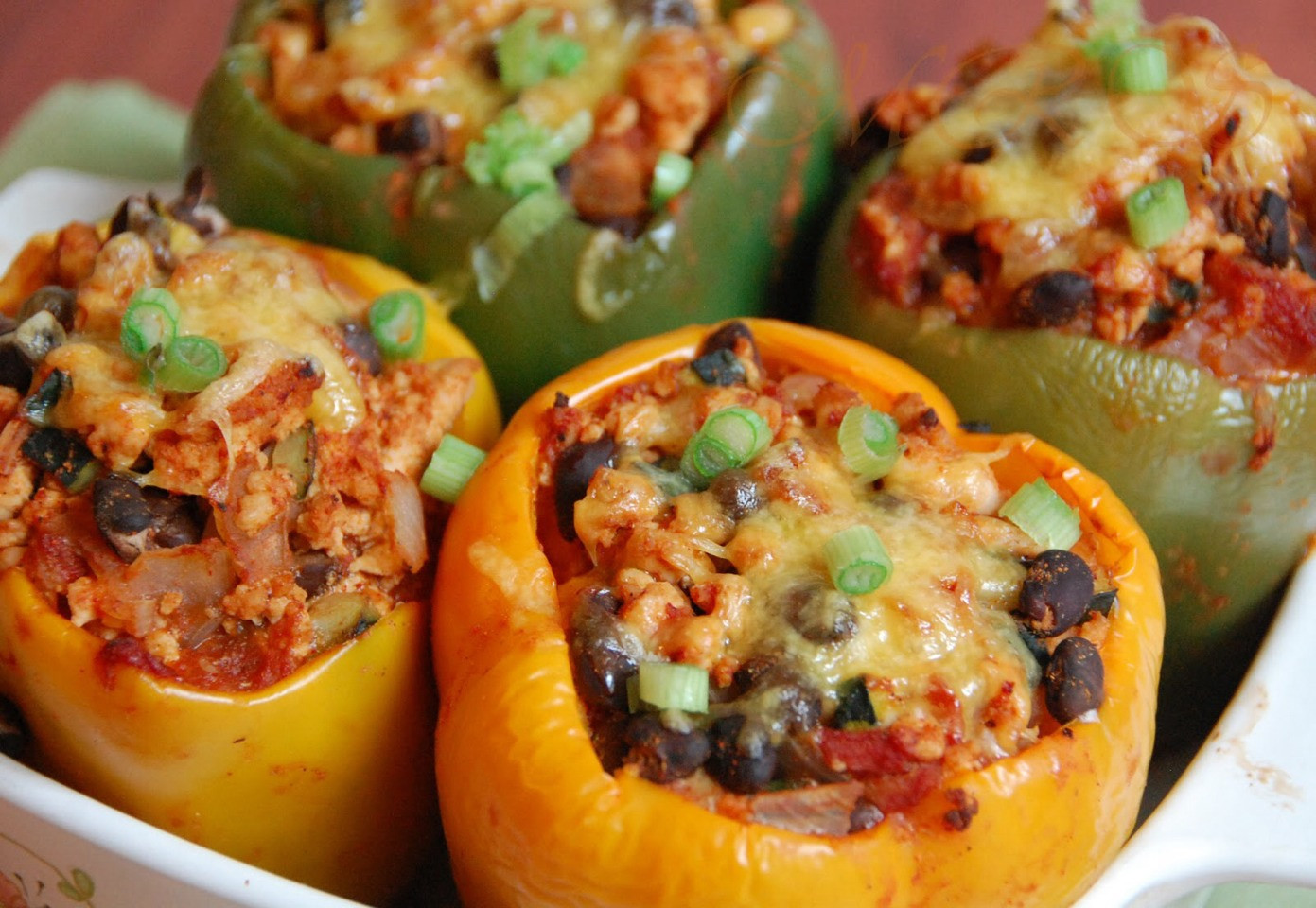Low Calorie Stuffed Bell Peppers  Heart Healthy Stuffed Peppers