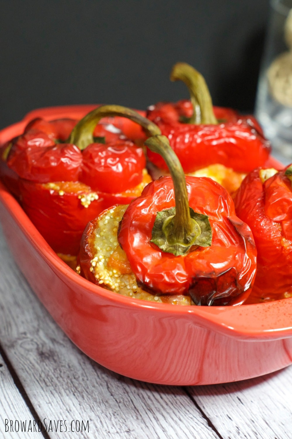 Low Calorie Stuffed Bell Peppers  Turkey Quinoa Stuffed Peppers Recipe Living Sweet Moments
