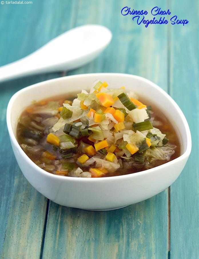 Low Calorie Vegetable Recipes  Chinese Clear Ve able Soup Low Calorie Healthy Cooking