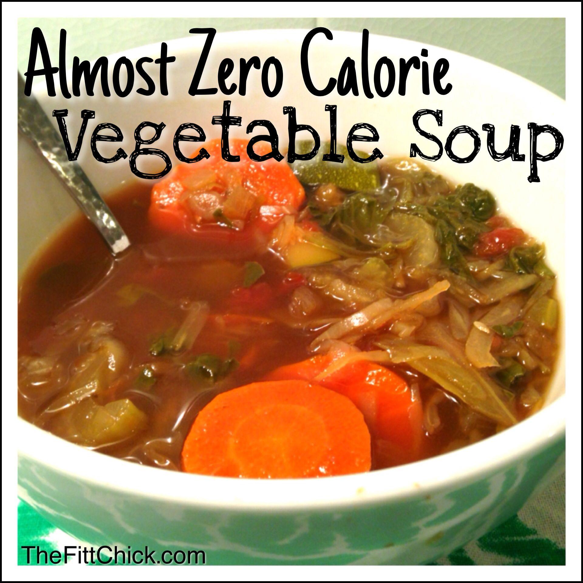 Low Calorie Vegetable Recipes  Best 25 Low calorie ve able soup ideas on Pinterest