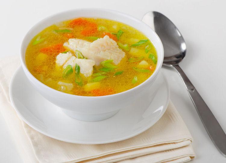 Low Calorie Vegetable Recipes  Low Calorie Fish and Ve able Soup