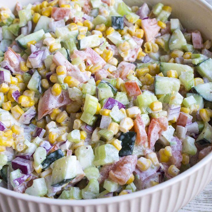 Low Calorie Vegetable Side Dishes  Best 25 Low calorie salad ideas on Pinterest