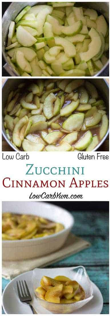 Low Carb Apple Recipes  Low Carb Zucchini Cinnamon Apples