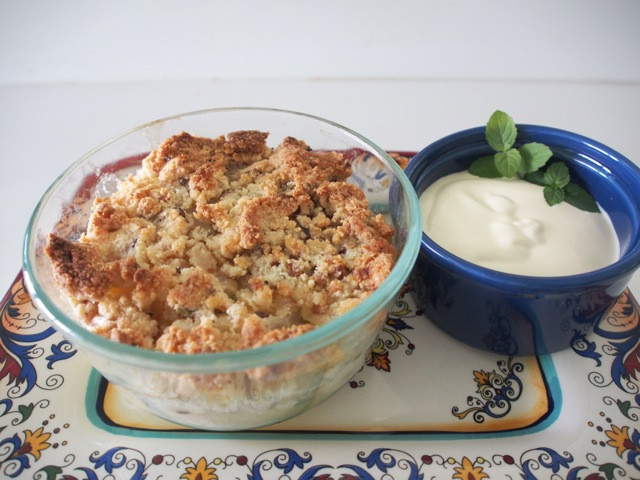 Low Carb Apple Recipes  Low Carb Apple Crumble Julia McPhee