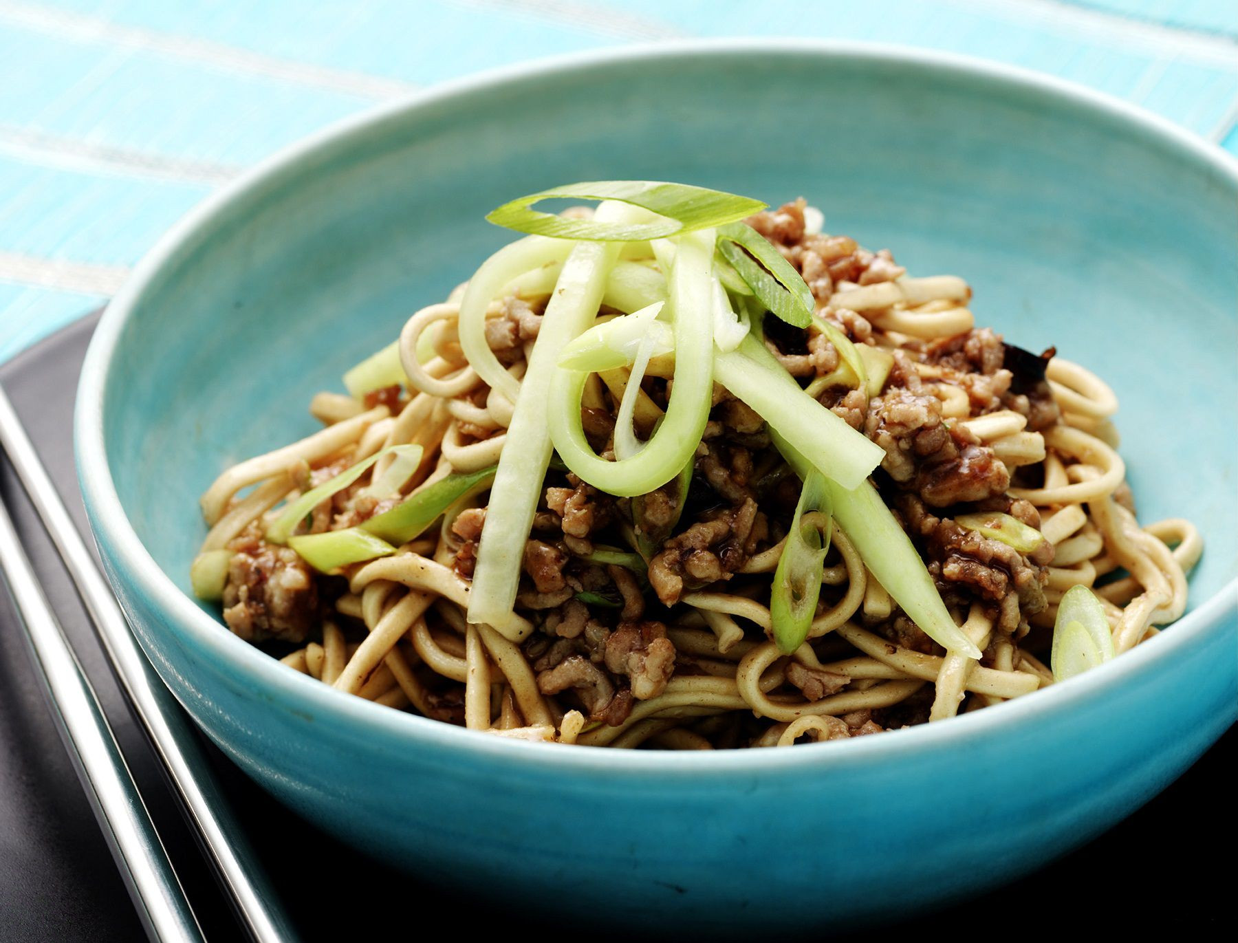Low Carb Asian Noodles  Low Carb Asian Noodle Dish With Pork Recipe