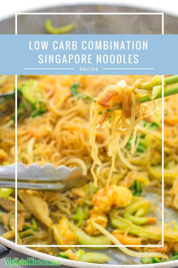 Low Carb Asian Noodles  Keto Noodles Recipe Low Carb bination Singapore