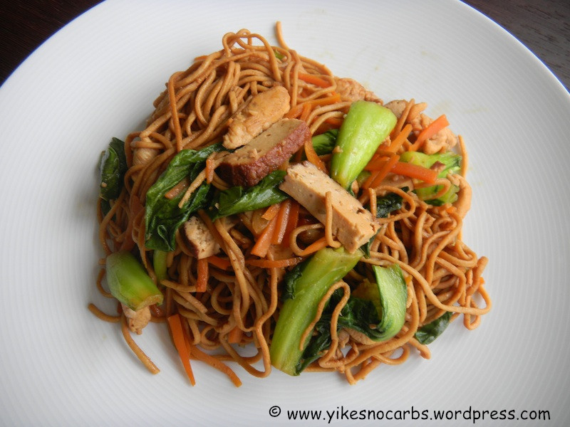 Low Carb Asian Noodles  Low Carb Soy Flour Pasta Noodles