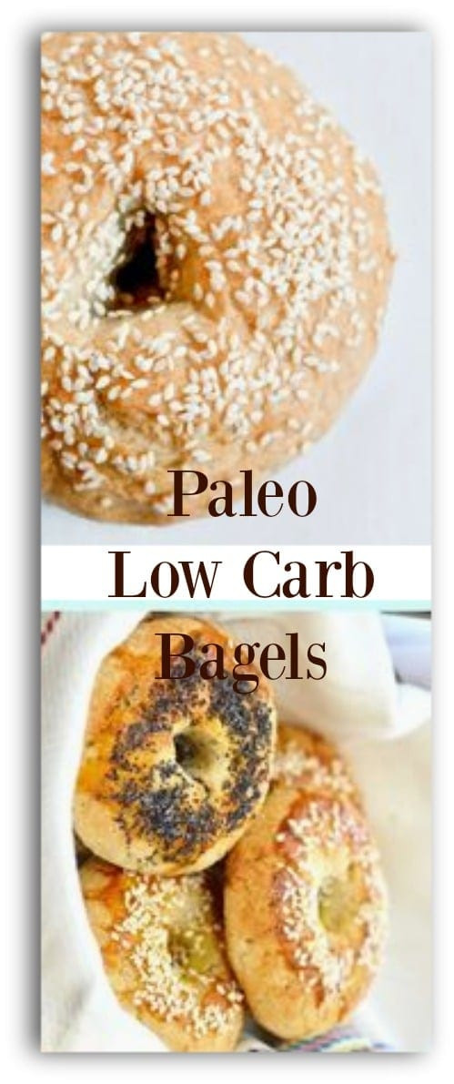 Low Carb Bagels  Low Carb Bagels Paleo