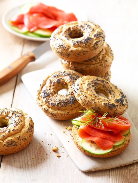 Low Carb Bagels Recipe  Low Carb Recipes Easy and Delicious Breakfast Recipes