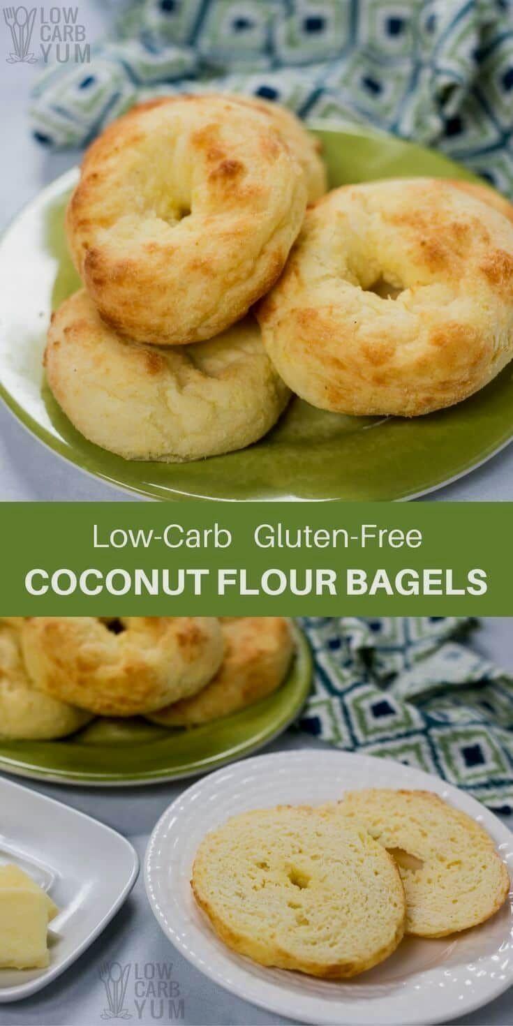 Low Carb Bagels Recipe  A recipe for low car A recipe for low carb bagels using a