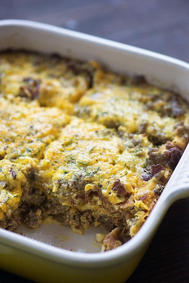 Low Carb Beef Casserole  Cheeseburger Casserole a low carb version of a family
