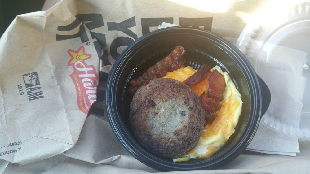 Low Carb Breakfast Bowls  Hardee's Low Carb Breakfast Bowl Yelp