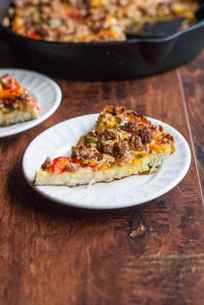 Low Carb Breakfast Pizza  Low Carb Breakfast Pizza Dan330