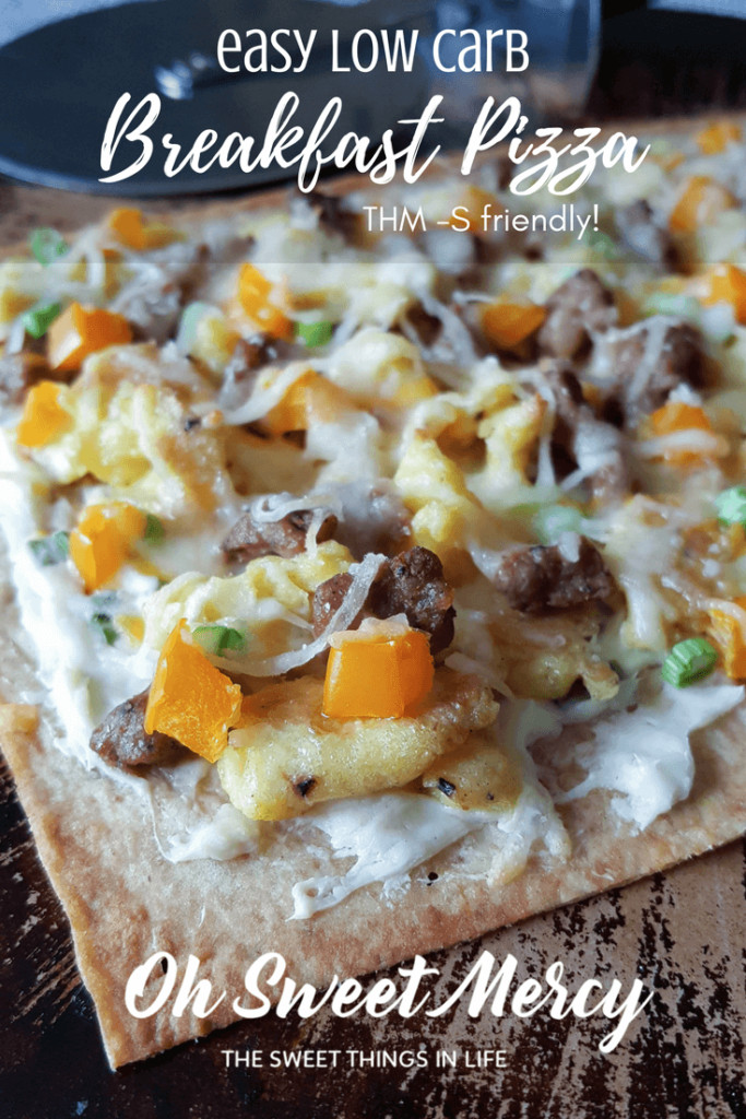 Low Carb Breakfast Pizza  Easy Low Carb Breakfast Pizza Make It Your Way Oh