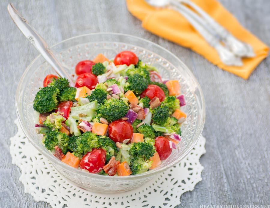 Low Carb Broccoli Salad  Sugar Free Broccoli Bacon Salad Low Carb Diabetic