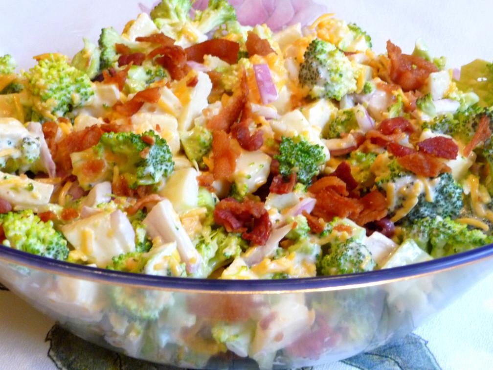 Low Carb Broccoli Salad  SPLENDID LOW CARBING BY JENNIFER ELOFF AMERICAN SUMMER