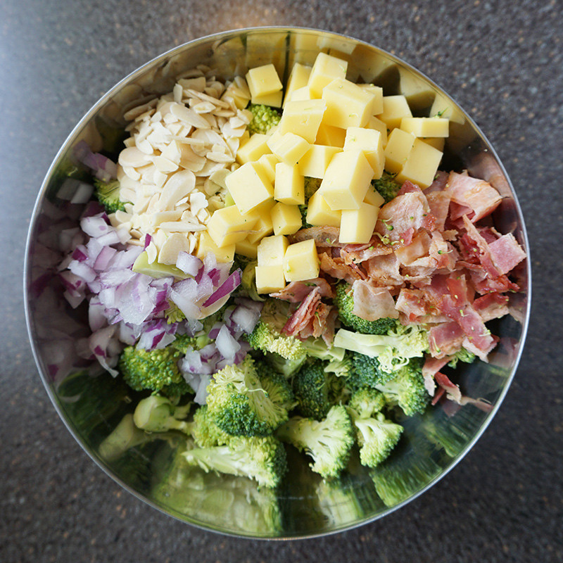 Low Carb Broccoli Salad  Low carb broccoli salad