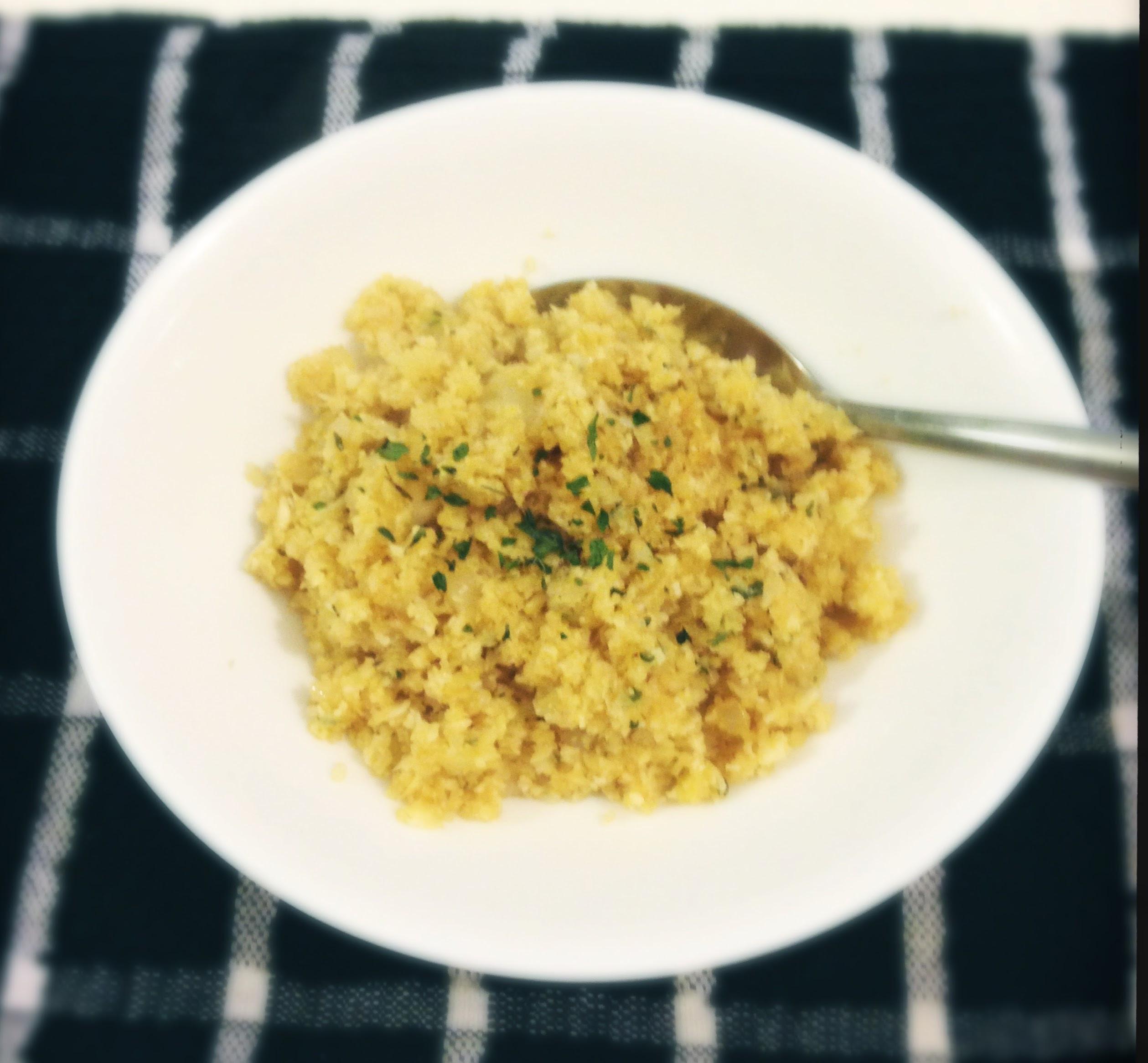 Low Carb Brown Rice  Low Carb Cauliflower Rice