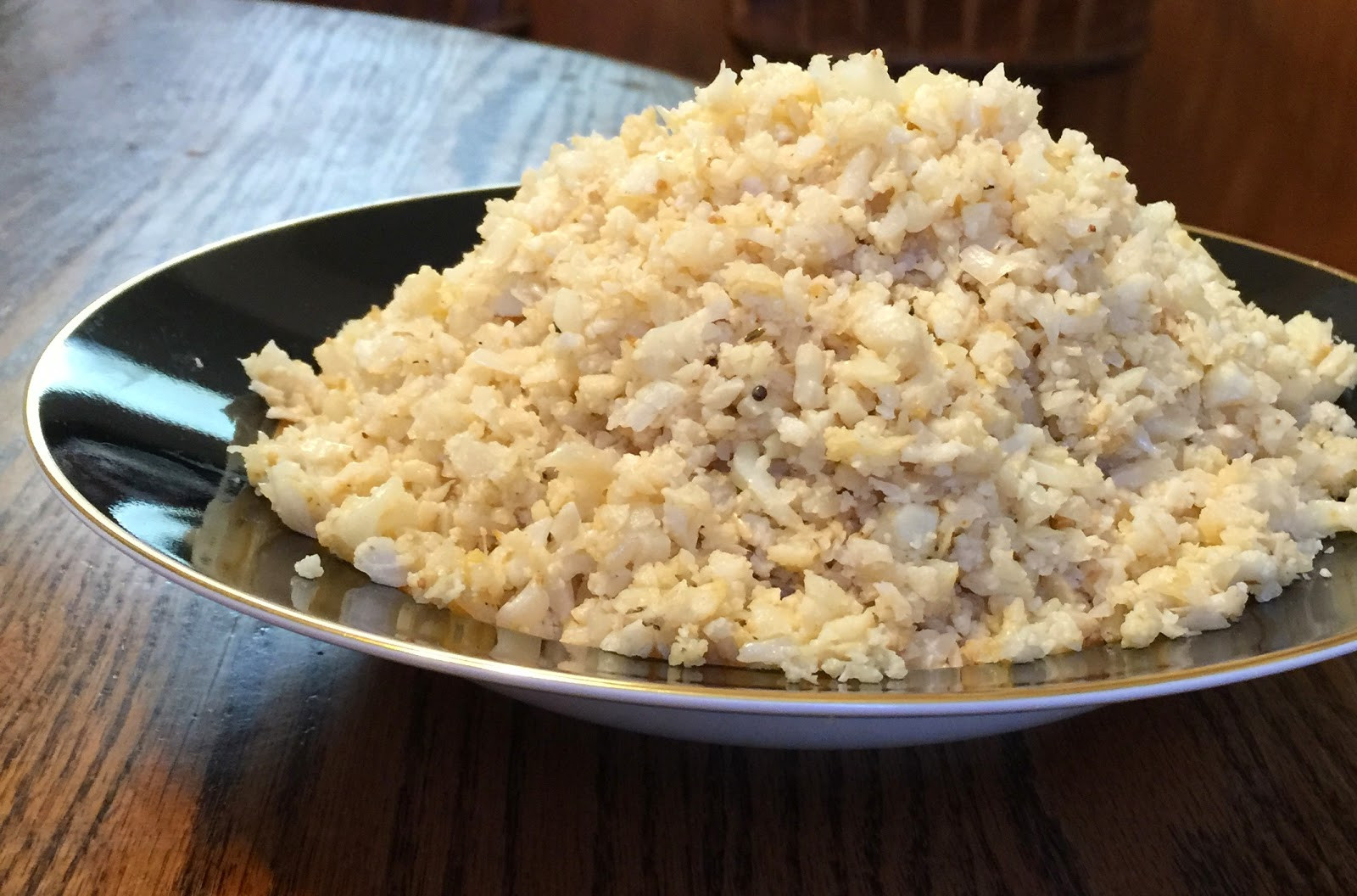 Low Carb Brown Rice  Kitchen Cheetahs Faux Brown Rice Low Carb and DELICIOUS