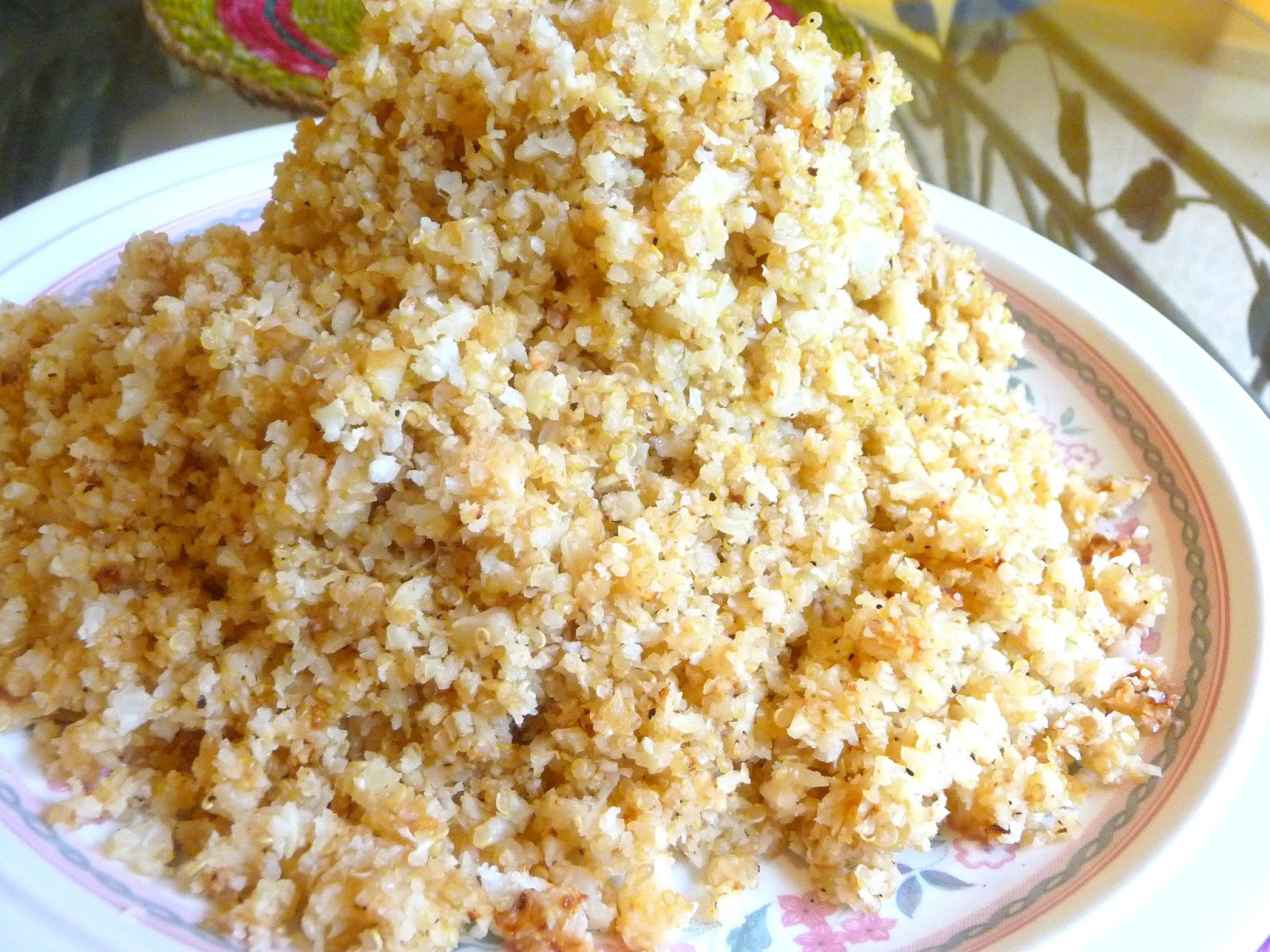 Low Carb Brown Rice  SPLENDID LOW CARBING BY JENNIFER ELOFF CAULI QUINOA BROWN