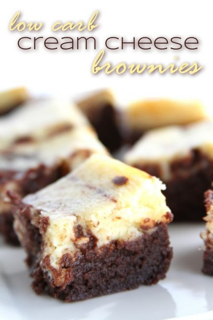 Low Carb Brownies Cream Cheese  Sugar Free Low Carb and Yet Really Good Cream Cheese