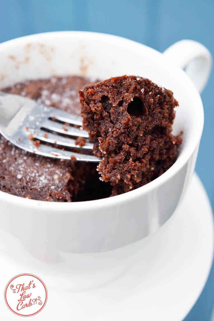 Low Carb Cake Recipes  Low Carb Chocolate Mug Cake Recipe Low Carb Recipes
