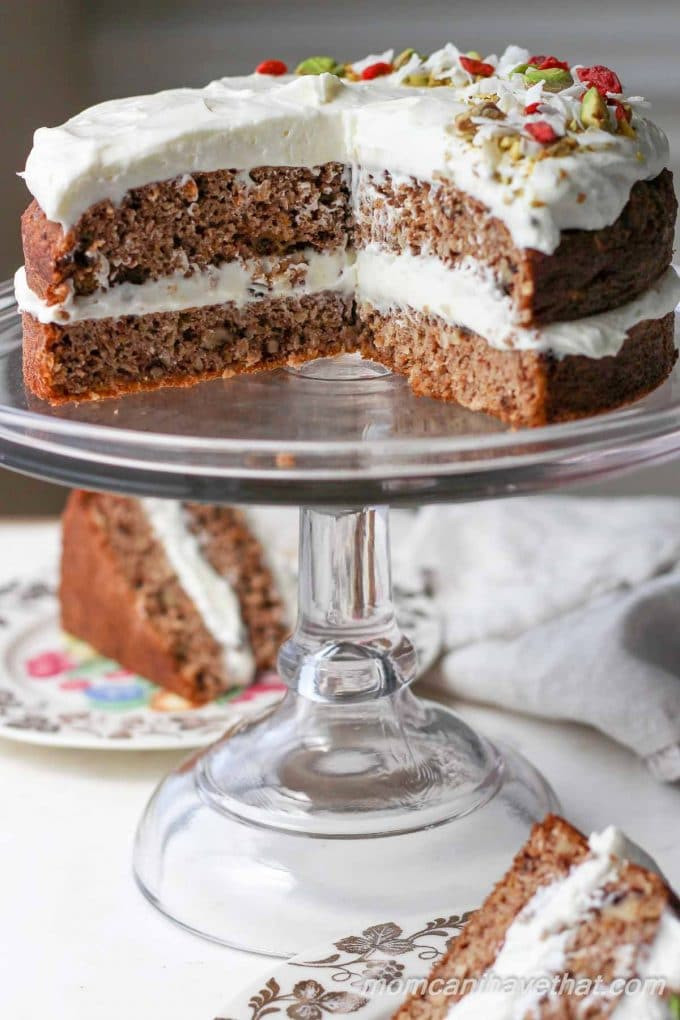 Low Carb Cake Recipes  Low Carb Carrot Cake Recipe With Ginger Cream Cheese Frosting