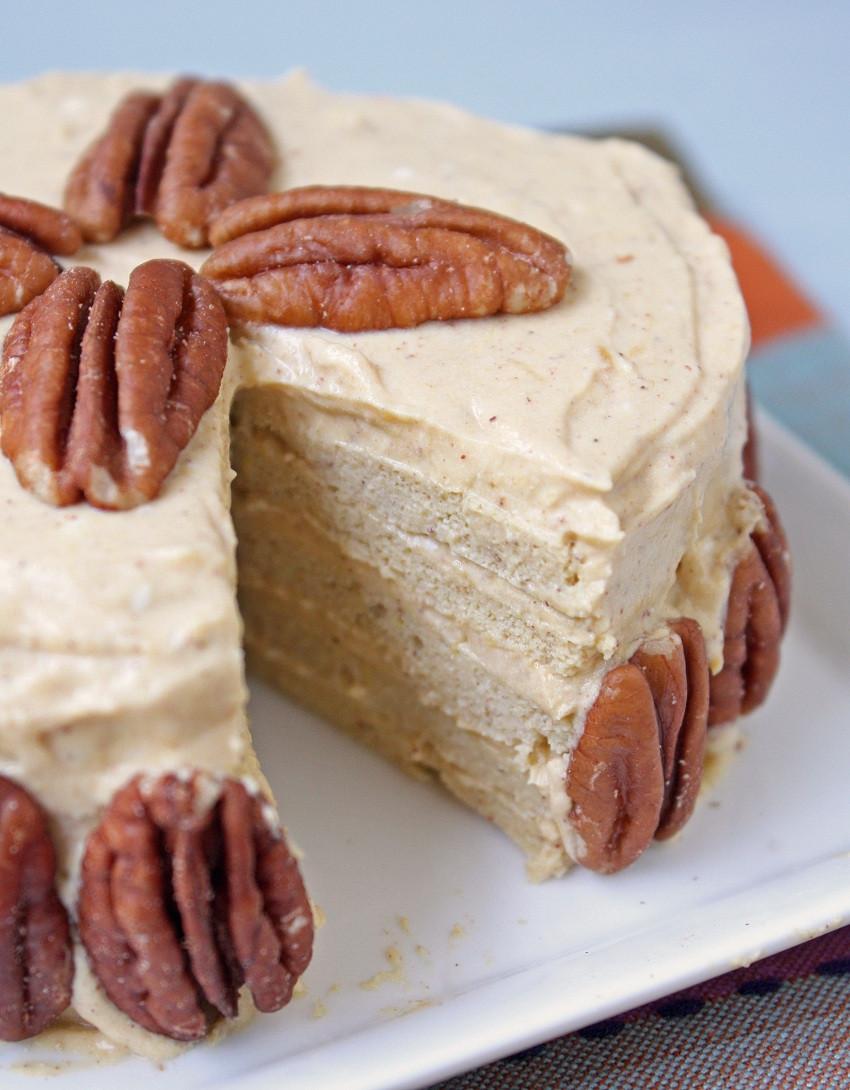 Low Carb Cake Recipes  Low Carb & Gluten Free Pumpkin Crepe Cake