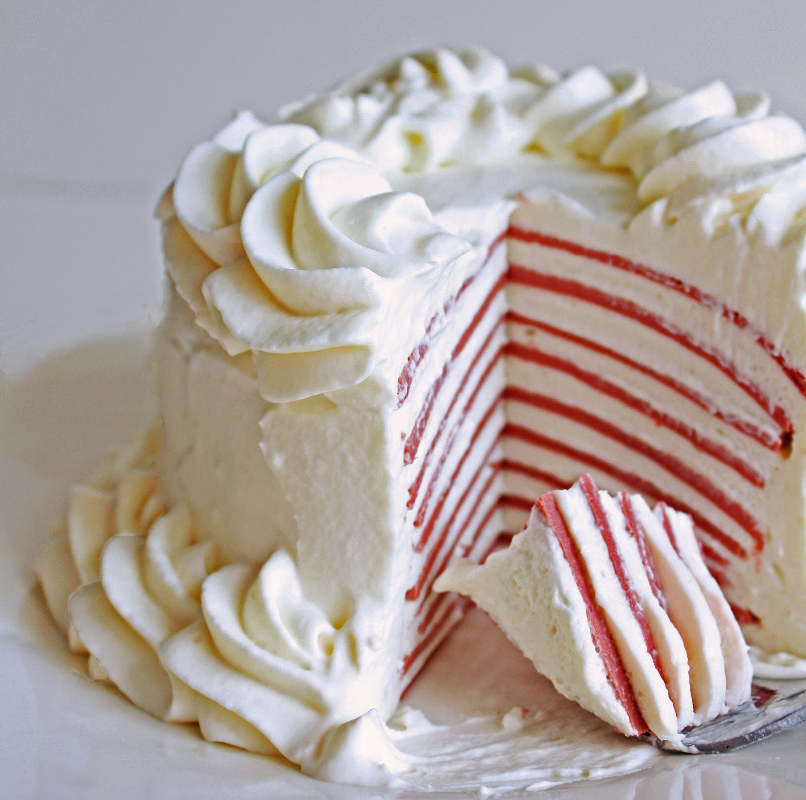 Low Carb Cake Recipes  Low Carb Red Velvet Crepe Cake
