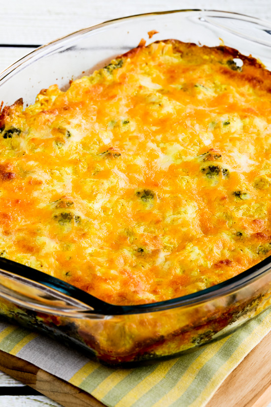 Low Carb Chicken And Broccoli Casserole  Kalyn s Kitchen Cheesy Creamy Low Carb Chicken Broccoli
