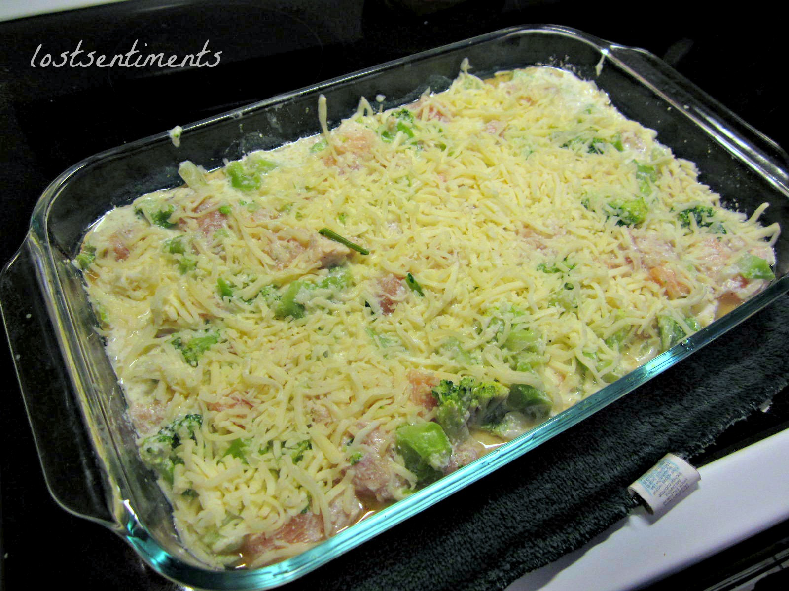 Low Carb Chicken And Broccoli Casserole  lostsentiments Chicken and Broccoli Cheesy Casserole